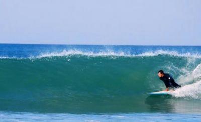 Surfen am Strand von Conil